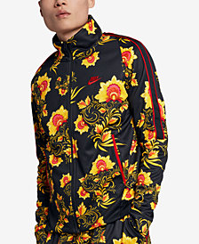 Nike Men's Russian-Floral Inspired Track Jacket