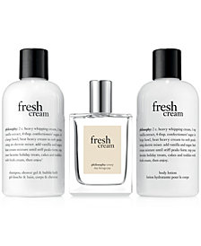 philosophy 3-Pc. Fresh Cream Eau de Toilette Gift Set