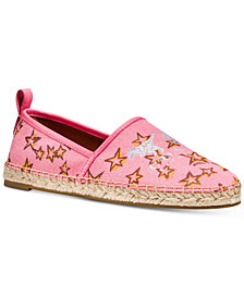 COACH Slip-On Espadrille Flats