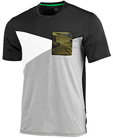 ID Ideology Men's Camo-Pocket Colorblocked T-Shirt, Created for Macy's