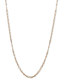 "Lauren Ralph Lauren Gold-Tone Long Link 42"" Necklace"