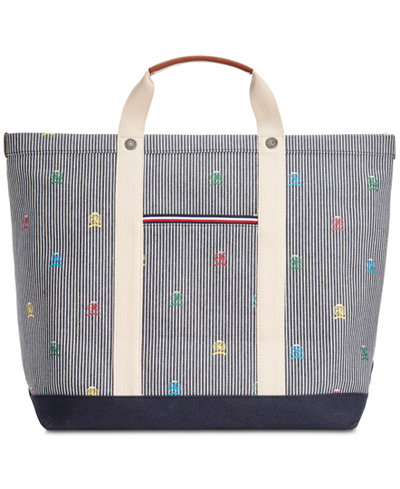 Tommy Hilfiger Printed Tote Bag
