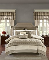 20-24 piece Bed in a Bag and Comforter Sets: Queen, King ...