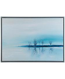 Madison Park Signature Stillness Framed Gel-Coated Canvas Print