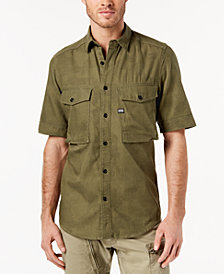 G-Star RAW Men's Dash Camo Shirt, Created for Macy's