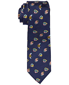 Ralph Lauren Men's Fish Silk Tie
