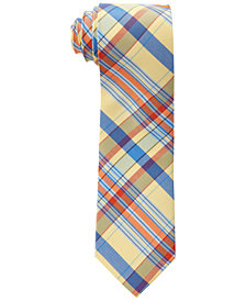 Lauren Ralph Lauren Men's Madras Silk Tie