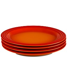 "Le Creuset 4-Pc. 10.5"" Dinner Plates Set"