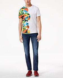 A|X Armani Exchange Men's Ruben Sanchez Street Art T-Shirt
