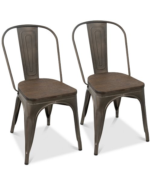 Lumisource Oregon Dining Chair (Set of 2)