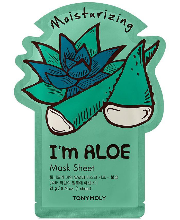 TONYMOLY - I'm Aloe Sheet Mask - (Moisturizing)