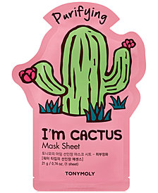 TONYMOLY I'm Cactus Sheet Mask - (Purifying)