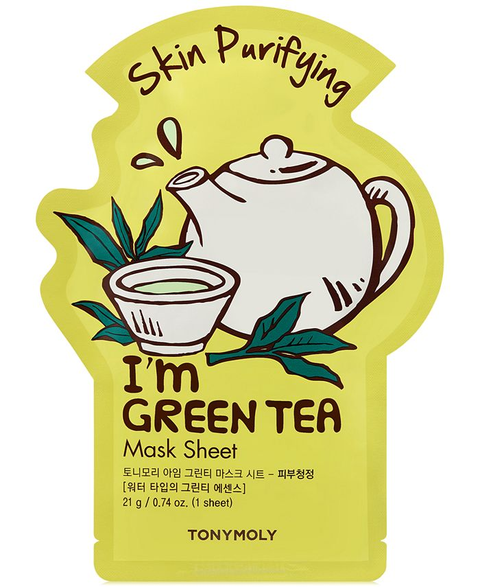 TONYMOLY - I'm Green Tea Sheet Mask - (Skin Purifying)