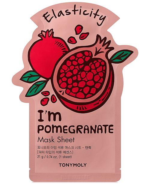 TONYMOLY I'm Pomegranate Sheet Mask - (Elasticity)