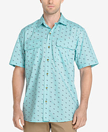 G.H. Bass & Co. Men's Explorer Printed Fishing Shirt