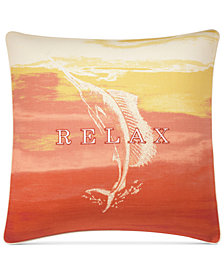 "Tommy Bahama Home La Scala Breezer 18"" x 18"" Decorative Pillow"