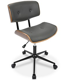 Lombardi Faux Leather Office Chair