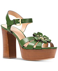 MICHAEL Michael Kors Tara Platform Dress Sandals