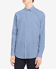 Calvin Klein Men's Yarn-Dyed Shirt