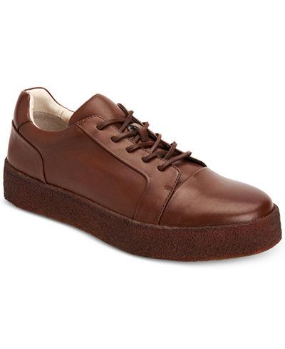 Calvin Klein Men's Reef Nappa Calf Leather Sneakers