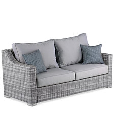 Vallauris Outdoor Sofa, Quick Ship