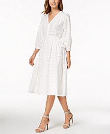 Calvin Klein Cotton Midi Dress