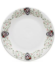 Fiesta Skull and Vine Sugar Border Chop Plate