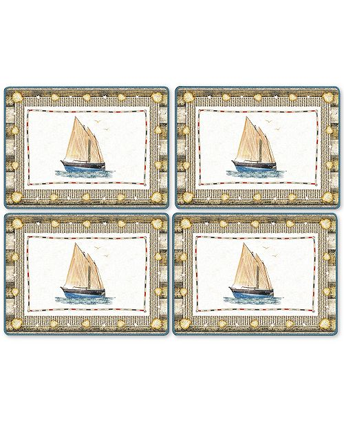 Pimpernel Coastal Breeze Set of 4 Placemats