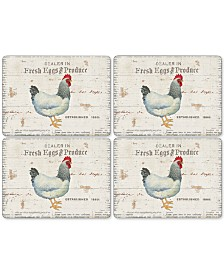 Pimpernel On the Farm Set of 4 Placemats