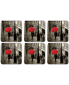 Pimpernel Paris Stroll Set of 6 Coasters