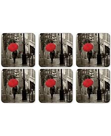 Pimpernel Paris Stroll Set of 6 Coasters