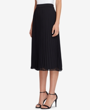 Tahari Asl Pleated Midi...