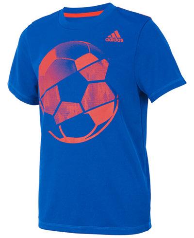 adidas Sports Ball-Print T-Shirt, Toddler Boys