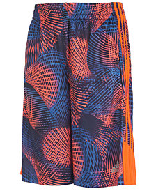 adidas Big Boys Amplified Net Printed Shorts