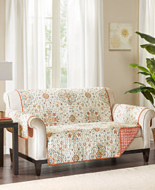 Madison Park Tissa Reversible Printed Loveseat Protector