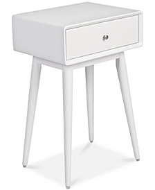 Rory 1-Drawer Side Table, Quick Ship