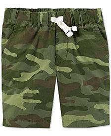 Carter's Toddler Boys Camo-Print Cotton Shorts