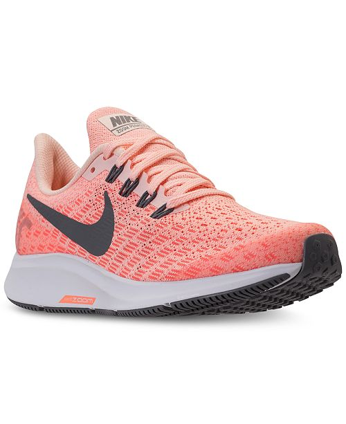 huge selection of 65350 66cff Nike Big Girls' Air Zoom Pegasus 35 Running Sneakers from ...
