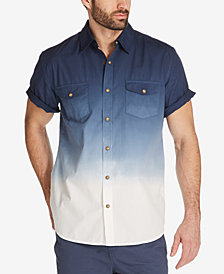 Weatherproof Vintage Men's Dip-Dyed Shirt