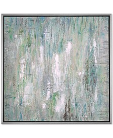 Flowing Along Abstract Wall Art