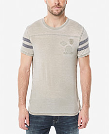 Buffalo David Bitton Men's Kokyo Varsity Style T-Shirt