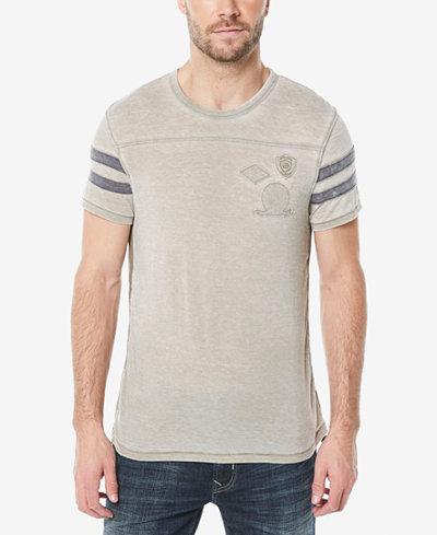 Buffalo David Bitton Men's Kokyo Varsity Style T-Shirt