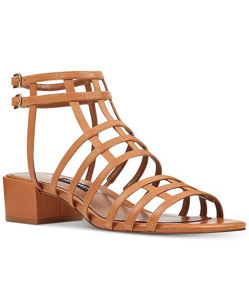 1fd6a726a9d1 Nine West Xeres Gladiator Sandals   Reviews - Sandals   Flip Flops ...