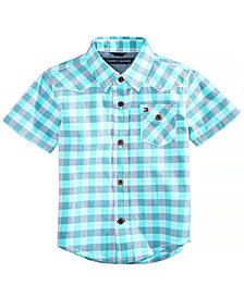 Tommy Hilfiger Baby Boys Andrew Plaid Cotton Shirt