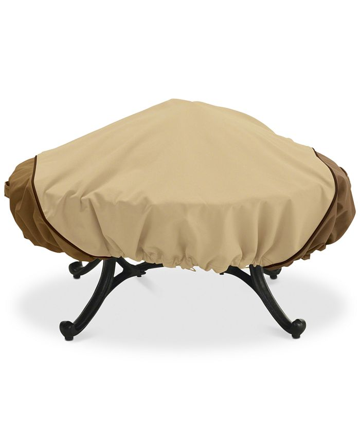 Classic Accessories - Large Round Fire Pit Cover, Quick Ship