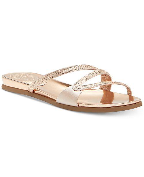 Vince Camuto Ej09bGm7ggKa Slide Sandals Womens Shoes