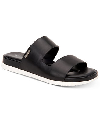 Women's Diona Flat Sandals, Created For Macy's by Calvin Klein