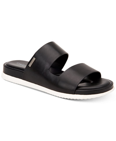 Calvin Klein Women's Diona Flat Sandals, Created for Macy's