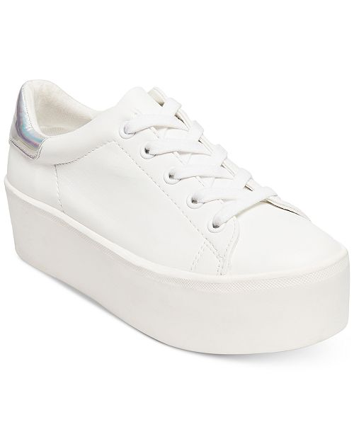 ed5b33e1f2d Steve Madden Women s Palmer Platform Lace-Up Sneakers   Reviews ...