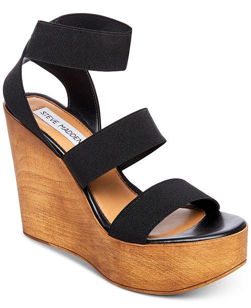 723858f8f6b5 Steve Madden Blondy Platform Wedge Sandals   Reviews - Sandals ...